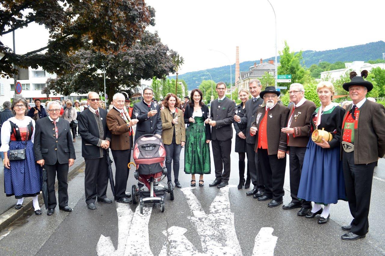 70 Jahre Feier LV Vorarlberg 2016