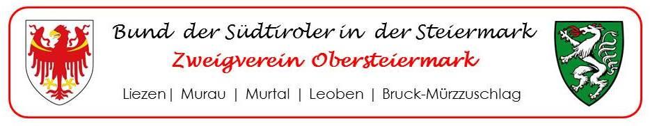 Bund der Südtiroler in der Steiermark - Zweigverein Obersteiermark