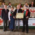 Zweigverein Innsbruck ehrt Helmuth Angermann für 20 Jahre GVS-Präsident